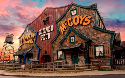 Happy New Year! Hatfield & McCoy Dinner Feud™