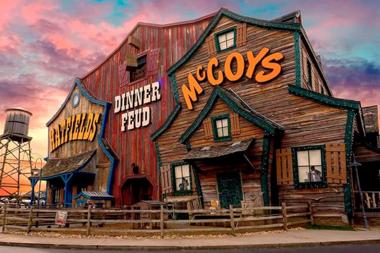 Our Pigeon Forge Dinner Show - Hatfield & McCoy Dinner Feud