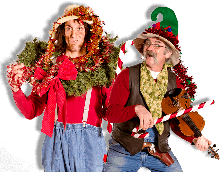 Hilarious antics and toe tapping music - Hatfield McCoy Christmas Disaster Dinner Feud