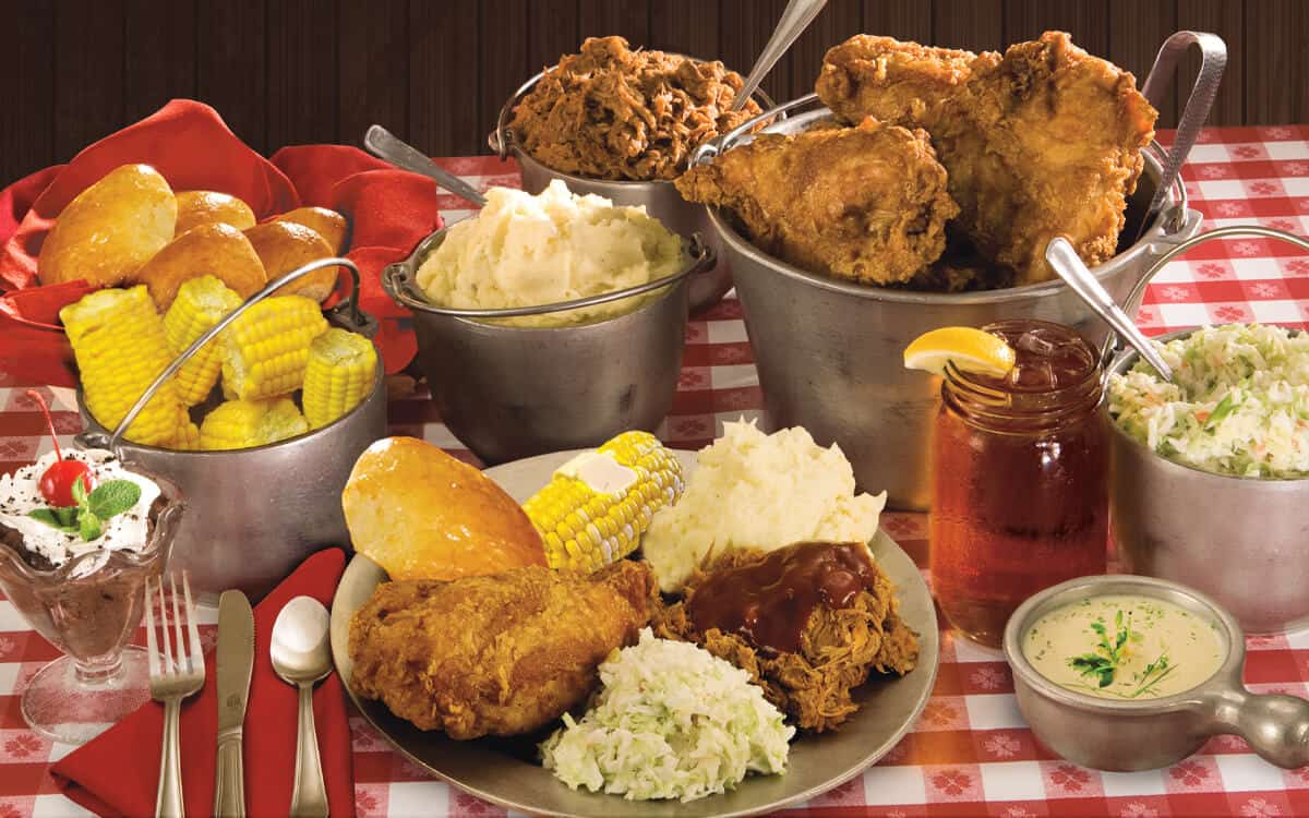Granny's Four Course Feast at Hatfield & McCoy Dinner Feud