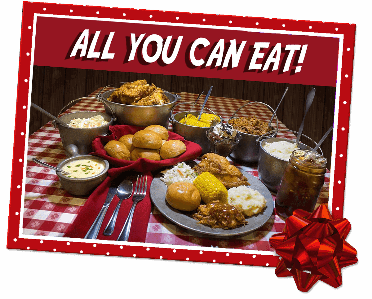 All You Can Eat Feast - Hatfield McCoy Christmas Disaster Dinner Feud Show